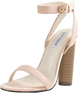 4db508eb1b2 CAPE ROBBIN Womens Open Toe Slingback Ankle Strap High Heel Cocktail Party  Pump Sandals Shoes