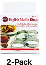 Norpro 3775 Muffin Rings, Set of 8