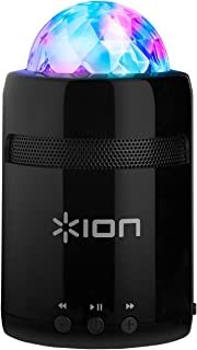 (Renewed) Ion Audio Party Starter MK II Bluetooth Speakers with Beat-Sync Light Show