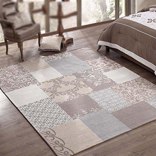 GJ Tapis de salon de pays américain, table de chevet épaisse anti-dérapant couverture moderne simple facile à nettoyer tapis de lavage (taille : 200 * 250cm)