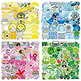 Sticker Aesthetic 200 Pcs,Cute Trendy Water Bottle VSCO Stickers Vinyl Stickers Decals Girls Teens Decals for Laptop, Phone, Cars, Luggage and Guitar