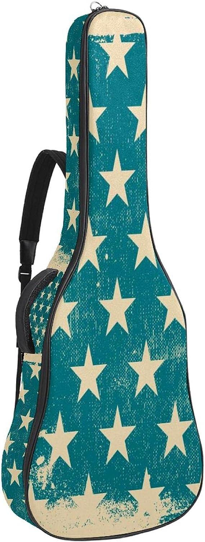 Guitar Sacramento Mall Gig Bag Stars Blue Case Inch Back 41 Store 40