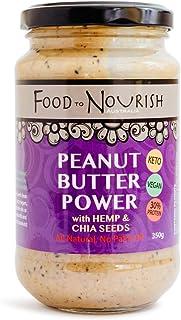 Food to Nourish Peanut Butter Power Spread, 350 g