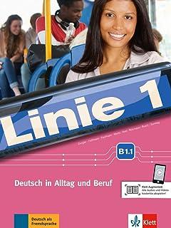 Linie 1 b1.1, libro del alumno y libro de ejercicios + dvd-rom: Deutsch in Alltag und Beruf. Kurs- und Übungsbuch mit DVD-ROM