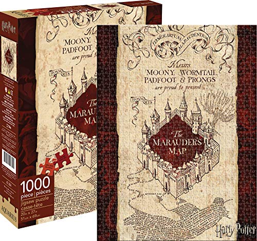 Aquarius Harry Potter Marauders Map 1000 Piece Jigsaw Puzzle