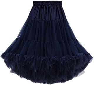 8664dc2ecbdd5 FOLOBE Adulte Luxueux en Mousseline de Soie en Mousseline Tulle Jupe Tutu  Femmes de Tutu Costume