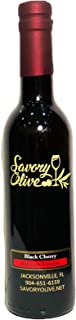 Black Cherry Dark Balsamic - Imported from Modena Italy - Gluten Free, No Artificial Flavors, Additives, Color, Preservati...