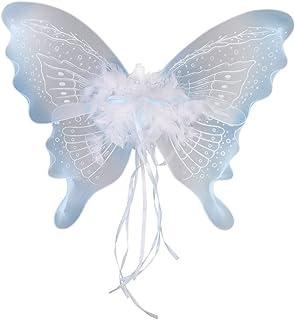Hellery フェアリーウィング 天使翼 バタフライ 装飾翼 仮装 パーティー デコレーション 全7選択 - タイプ6