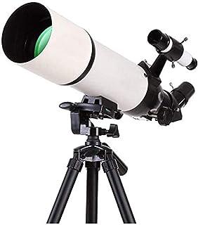 SXMY Teleskop för astronominybörjare, 45 graders stående Zenit-spegel, 80 mm stor diameter, 5 x 24 upphittare, teleskop fö...