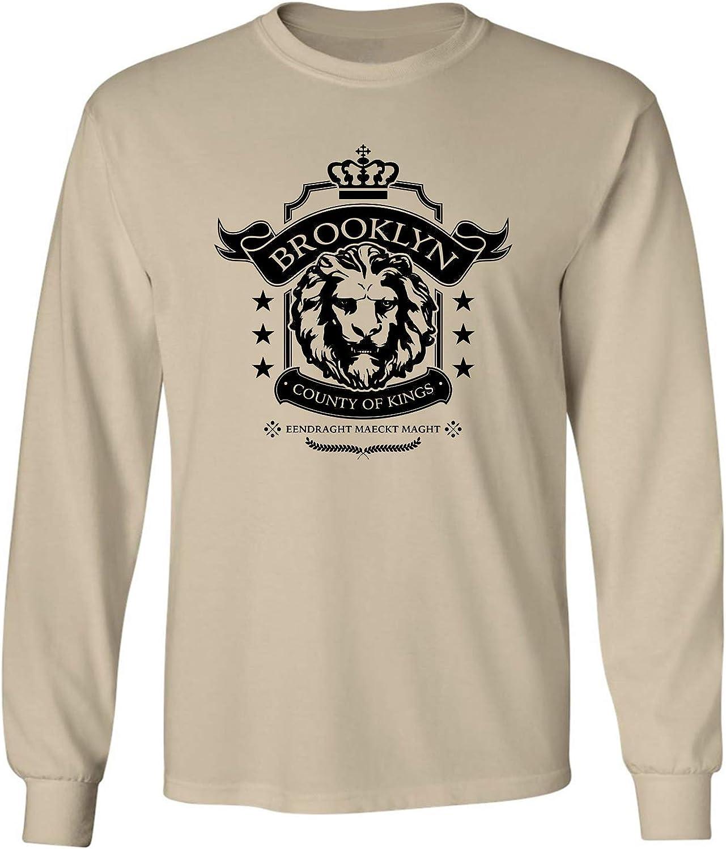 Brooklyn County of Kings Adult Long Sleeve T-Shirt