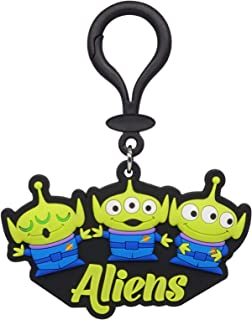 Toy Story Aliens Soft Touch ID Tag Bag Clip
