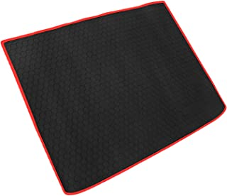 iallauto Trunk Liner Custom Fit Chevy Cruze 2017 2018 Chevrolet Hatchback All Weather Protection Heavy Duty Rubber Rear Cargo Mat - Odorless and Durable