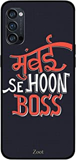 ZOOT Protective Printed Case Cover For Oppo Reno 4 Pro 5G Mumbai Se Hoon Boss