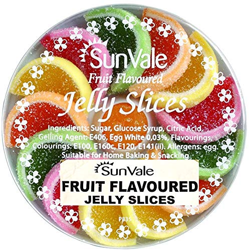 SunVale Assorted Fruit Flavoured Jelly Slices 200g