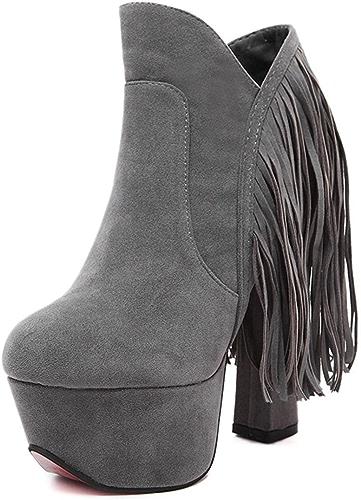 MNII Chaussures à Talons Hauts à Talons Hauts Chaussures à Talons Hauts Talons à Talons- Chaussures de Mode