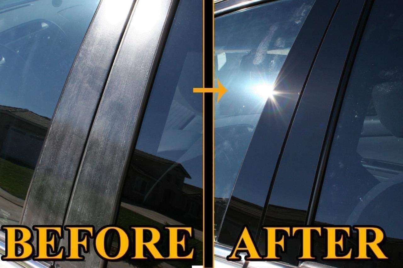 Covers for Infiniti M Q70 11 12 13-8 Pieces Q70 2014-up M 2011-2013 AUTOCARIMAGE Glossy Piano Black Pillar Posts B Pillars