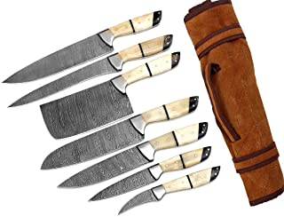 G26- Professional Kitchen Knives Custom Made Damascus...