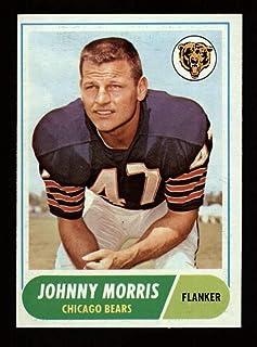 1968 Topps Football #023 Johnny Morris STARX 8 NM/MT CS25378