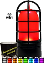 Bridge Cutters Sports Score Goal Light & Horn goes Off When You See it on tv Color Works with Baseball Football Hockey WiFi Real Time Arena Scoreboard Interactive Game Light red Live Action Beacon