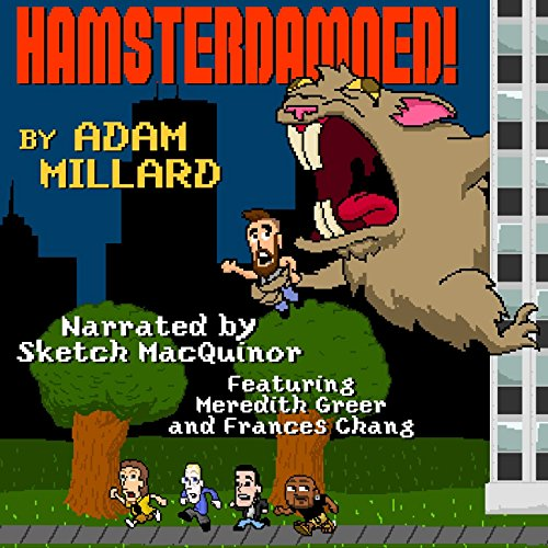 Hamsterdamned! audiobook cover art