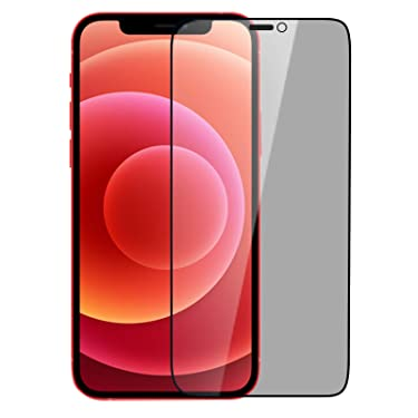 """Nillkin Tempered Glass for Apple iPhone 12 Mini (5.4"""" Inch) 3D Guardian Full Coverage Privacy Edge to Edge Glass 0.33mm Black"""