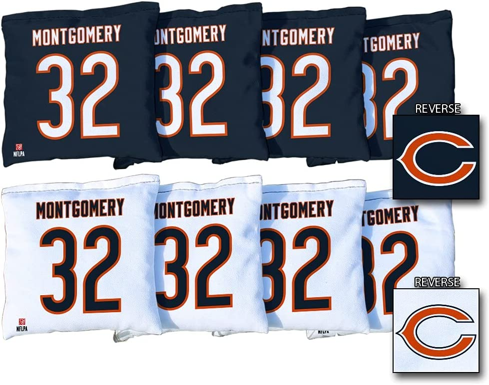 Victory Tailgate David Montgomery 8-Piece Regulati Bears excellence Selling and selling Chicago