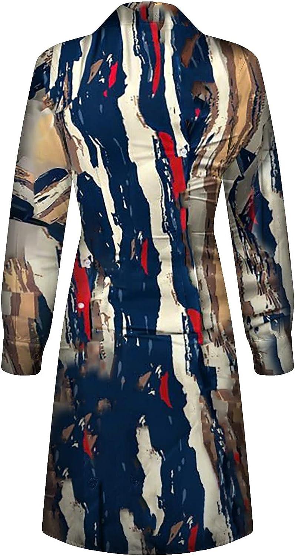 MINEMIN Bodycon Dress Women Slim Buttons Sexy Fashion Long Sleeve Buttock Maxi Dresses