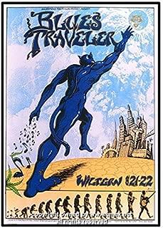 1995 Blues Traveler Silkscreen Concert Poster by Emek