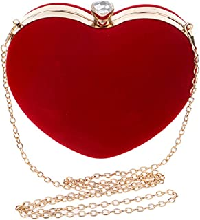 Best red heart shaped handbag Reviews