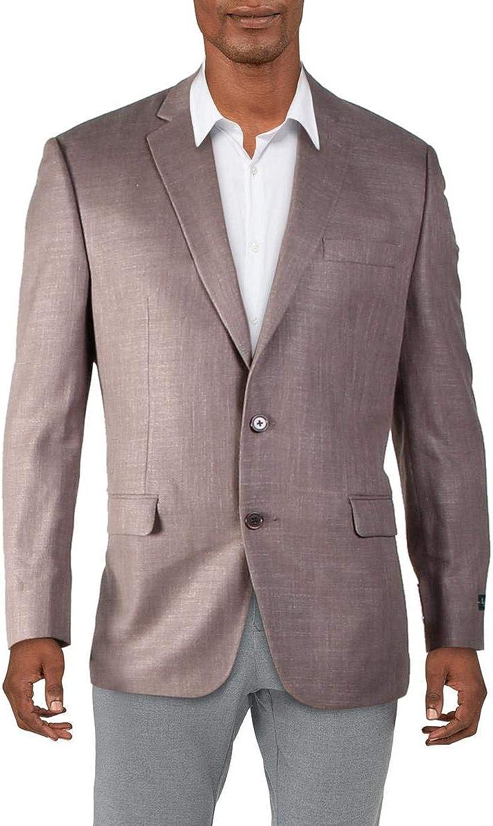 LAUREN RALPH LAUREN Mens Lexington Two-Button Suit Separate Blazer