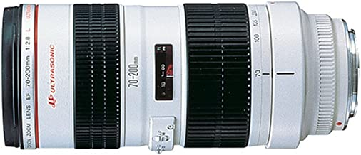Canon EF 70-200mm f/2.8L USM Telephoto Zoom Lens for Canon SLR Cameras (Renewed)
