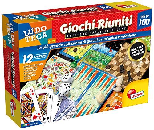Liscianigiochi- Riuniti Piu' di 100 Scatola Deluxe, Multicolore, 68791