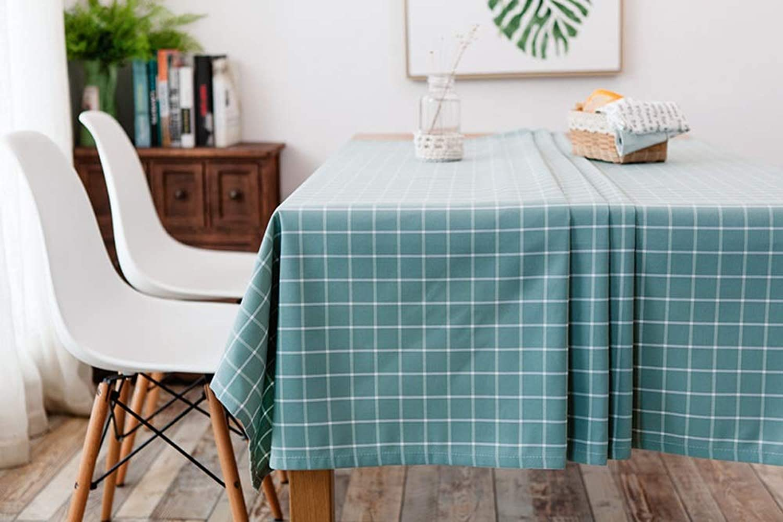 marca Creativa Tela de de de tela escocesa verde oscuro Estilo simple Pao de tabla Rectángulo Material de algodón Cubierta Impermeable Aceite Cena Pao limpio para mesa de cocina Mesa de centro Picnic al aire li  wholesape barato