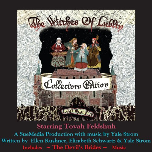 The Witches of Lublin - Collectors Edition (includes The Devil's Brides Music)                   Written by:                                                                                                                                 Ellen Kushner,                                                                                        Elizabeth Schwartz,                                                                                        Yale Strom                               Narrated by:                                                                                                                                 Ellen Kushner,                                                                                        Miriam Margolyes,                                                                                        Neil Gaiman,                                    Length: 2 hrs and 2 mins     Not rated yet     Overall 0.0