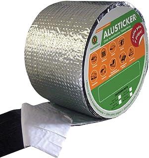 ALUSTICKER IMPERQUIMIA Rollo de 10.5 CM X 10 M, Cinta Tapa Goteras Autoadherible, Repara filtraciones y goteras, Resistent...