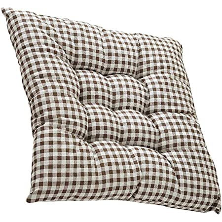 LAAT Quadratisch Sitzkissen Bodenkissen Winterkissen Sofa Dickes bequemes Stuhlkissen f/ür St/ühle im Auto oder zu Hause