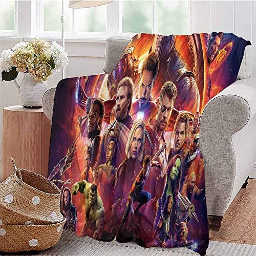 Housedecor - Morbide coperte Avengers Infinity War K Poster Yp comoda e calda coperta da spiaggia, 50 x 30 cm