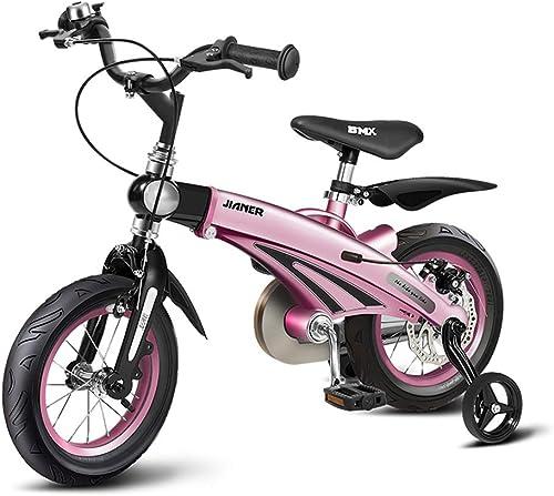 Kinderfürr r 3-6 J ige Jungenfürr r Rosa mädchen fürrad Einziehbares Outdoor Sports Bike