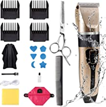 Innoo Tech Professional Hair Clippers for Men Kids, Hair Trimmer Kits Set Cordless USB Rechargeable Five Speed Adjustment ...