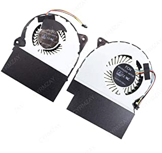 CYRMZAY 新 冷却 ファン 互換性があります ASUS ROG GL702ZC 13NB0FV0M10011 13NB0FV0M09111 R+L