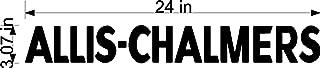 Tractor Sticker Allis-chalmers 24 inch x 3 inch