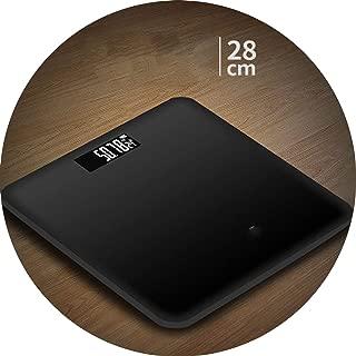 Weighing Scale Digital LED Digital Display Weight Weighing Floor Electronic Smart Balance Body Household Bathrooms Gift Custom,Black