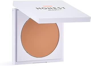 Honest Beauty Everything Cream Foundation, Sand | Demi-Matte, Lightweight, Medium-to-Full Coverage | Talc Free, Dermatologist Tested, Cruelty Free | 0.31 oz.