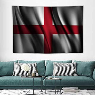 Wall Tapestries Hippie Flag of England Tapestry Wallpaper Home Decor,Great Decoration for Your Girls Bedroom,Living Room 60W x 40L inch