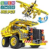 Building Toys Gifts for Boys & Girls, Educational STEM Learning Sets for 7, 8, 9, 10-Year-Old| Best Creative Construction Engineering Kit | Top Birthday/ Christmas Idea for Kids 8-12 Years Old
