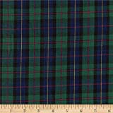 Textile Creations Classic Yarn-Dyed Tartan Plaid Blue/Green Fabric by The Yard