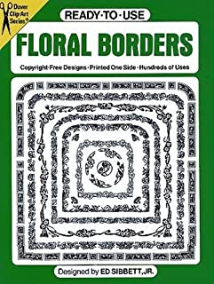 Ready-to-Use Floral Borders (Dover Clip Art Ready-to-Use)