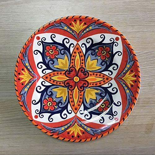 COOLSHOPY el Norte de Europa Platos, vajilla de cerámica, Placas de solomillo,...