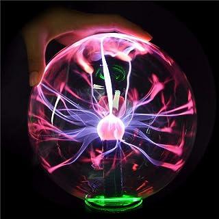 GENERIC 5 بوصة ترقية بلازما الكرة الكرة الكرة الكرة الكرة الكرة الضوء كريستال مصباح مكتب سحري ضوء جديد ديكور منزلي