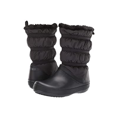 Crocs Crocband Winter Boot (Black/Black) Women